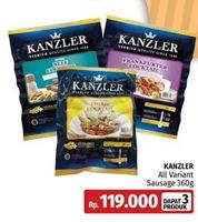 Promo Harga KANZLER All Sausage 360gr  - LotteMart