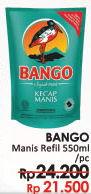Promo Harga BANGO Kecap Manis 550 ml - LotteMart