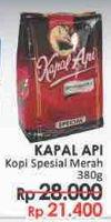 Promo Harga KAPAL API Kopi Bubuk Special 380 gr - LotteMart
