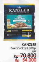 Promo Harga KANZLER Sosis Cocktail 500 gr - LotteMart