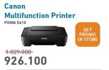 Promo Harga CANON E410 Printer  - Electronic City