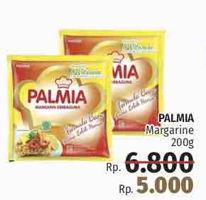 Promo Harga PALMIA Margarin Serbaguna 200 gr - LotteMart