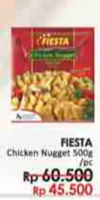 Promo Harga FIESTA Chicken Nugget 500 gr - LotteMart