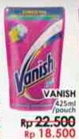 Promo Harga VANISH Penghilang Noda Cair 425 ml - LotteMart