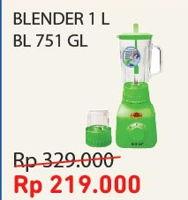 Promo Harga SEKAI BL-751 GL | Blender  - Courts