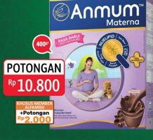 Promo Harga ANMUM Materna Cokelat 400 gr - Alfamidi