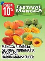 Promo Harga Mangga Budiraja / Indramayu / Gedong / Manalagi / Harum Manis  - Hypermart