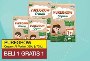 Promo Harga ARLA Puregrow Organic 1+ All Variants 720 gr - Yogya