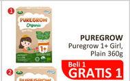 Promo Harga ARLA Puregrow Organic 1+ Girls 360 gr - Alfamidi
