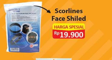 Promo Harga SCORLINES Face Shield  - Alfamart