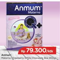 Promo Harga ANMUM Materna Strawberry White Chocolate 400 gr - TIP TOP