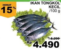 Promo Harga Ikan Tongkol Kecil Terbarupromo Katalog Harga Diskon Minggu Ini Jsm Terupdate 24 Jam Hemat Id