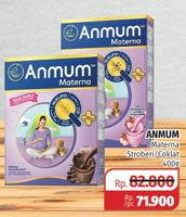 Promo Harga ANMUM Materna Strawberry, Cokelat 400 gr - Lotte Grosir