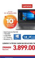 Promo Harga Lenovo Ideapad Ip330 141gm Carrefour Hemat Id