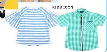 Promo Harga KIDS ICON T-Shirt  - Carrefour