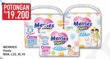 Promo Harga MERRIES Pants M28, L22, XL19  - Hypermart