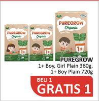 Promo Harga ARLA ARLA Puregrow Organic 1+  - Alfamidi