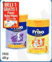 Promo Harga FRISO Gold 3/4 Susu Pertumbuhan 400 gr - Hypermart