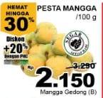 Promo Harga Mangga Gedong B per 100 gr - Giant