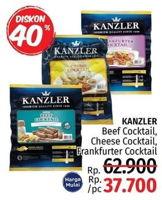 Promo Harga KANZLER Frankfurter / Beef Cocktail  - LotteMart