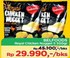 Promo Harga BELFOODS ROYAL Chicken Nugget S 500 gr - TIP TOP