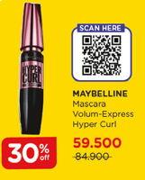 Promo Harga MAYBELLINE Hypercurl Volum Express  - Watsons