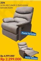 Promo Harga COURTS Zen Sofa Recliner  - Courts