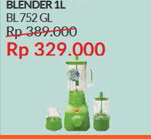 Promo Harga SEKAI BL-752 GL | Blender  - Courts