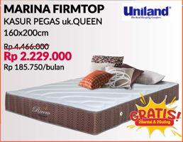 Promo Harga UNILAND Marina Firmtop 160x200cm  - Courts
