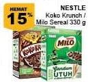 Promo Harga NESTLE KOKO KRUNCH Nestle Koko Krunch / Milo Sereal  - Giant