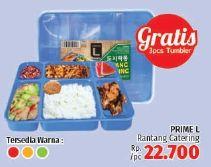 Promo Harga PRIME L Rantang Catering  - LotteMart