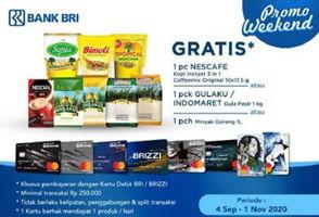 Promo Harga NESCAFE Nescafe Original 3 in 1 / Gulaku Gula Pasir / Minyak Goreng  - Indomaret