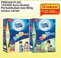Promo Harga FRISIAN FLAG 123 Jelajah / 456 Karya All Variants 800 gr - Indomaret