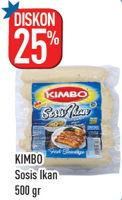Promo Harga KIMBO Sosis Ikan 500 gr - Hypermart
