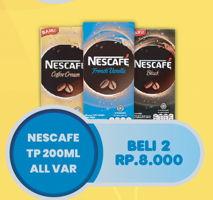 Promo Harga NESCAFE Coffee Cream All Variants per 2 pcs 200 ml - Hypermart