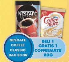 Promo Harga NESCAFE Classic Coffee 50 gr - Hypermart