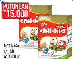Promo Harga MORINAGA Chil Kid Gold 800 gr - Hypermart