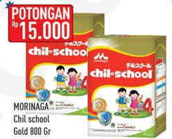 Promo Harga MORINAGA Chil School Gold 800 gr - Hypermart