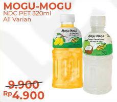 Promo Harga MOGU MOGU Minuman Nata De Coco All Variants 320 ml - Alfamart
