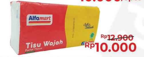 Promo Harga ALFAMART Facial Tissue 220 pcs - Alfamart