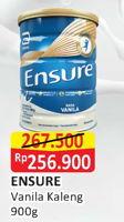 Promo Harga ENSURE Nutrition Powder FOS Vanila 900 gr - Alfamart