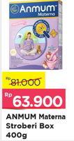 Promo Harga ANMUM Materna Strawberry 400 gr - Alfamart