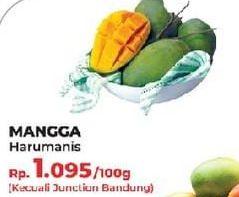 Promo Harga Mangga Harum Manis per 100 gr - Yogya