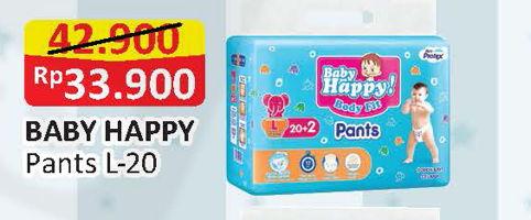 Promo Harga BABY HAPPY Body Fit Pants L20  - Alfamart