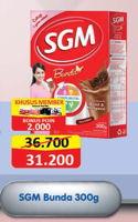 Promo Harga SGM Bunda Susu Ibu Hamil & Menyusui 300 gr - Alfamart