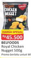 Promo Harga BELFOODS ROYAL Chicken Nugget 500 gr - Alfamart