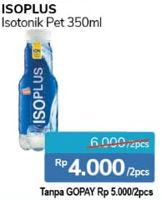 Promo Harga ISOPLUS Minuman Isotonik per 2 botol 350 ml - Alfamidi
