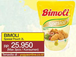 Promo Harga BIMOLI Minyak Goreng Spesial 2 ltr - Yogya