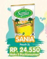 Promo Harga SANIA Minyak Goreng 2 ltr - Yogya