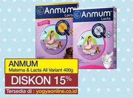Promo Harga ANMUM ANMUM Materna/Lacta 400gr  - Yogya
